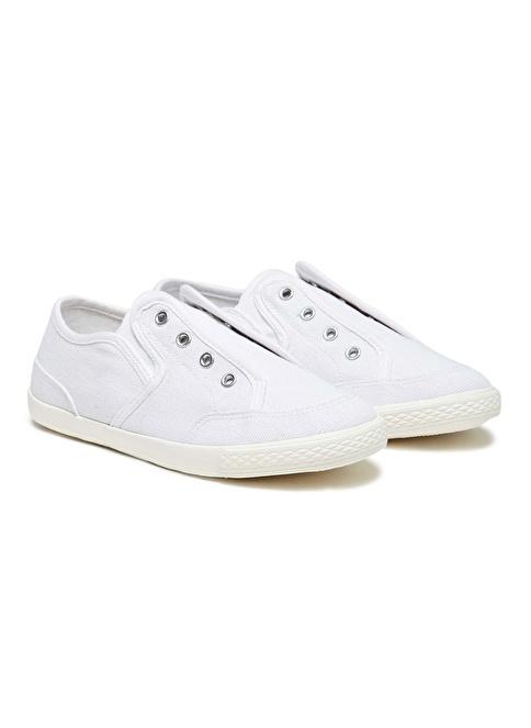 012 Benetton Ayakkabı Beyaz